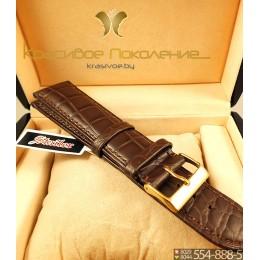 Ремешок кожаный для часов 26 мм 1582-2602