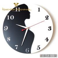 Настенные часы Девушка (N033)