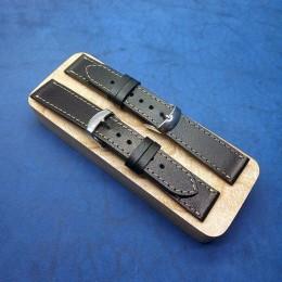 Кожаный ремешок ручной работы для часов 20 мм M107-20