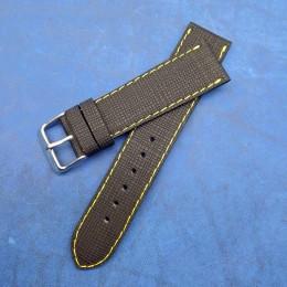 Кожаный ремешок ручной работы для часов 22 мм M141-22