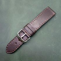 Кожаный ремешок ручной работы для часов 22 мм M148-22