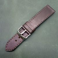 Кожаный ремешок ручной работы для часов 22 мм M149-22