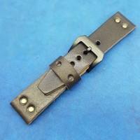 Кожаный ремешок ручной работы для часов 22 мм M155-22