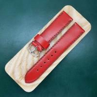 Красный ремешок ручной работы для часов 22 мм M161-22