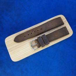 Кожаный ремешок Remenmaster светло-коричневого цвета для часов 20 мм M172-20