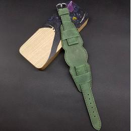 Ремешок с базой для наручных часов. Натуральная кожа. Производитель Remenmaster 20 мм M206-20