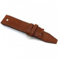Кожаный ремешок ручной работы для часов 18 мм M017-18