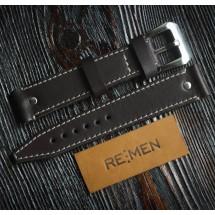 Авторский ремень для часов REMEN M035