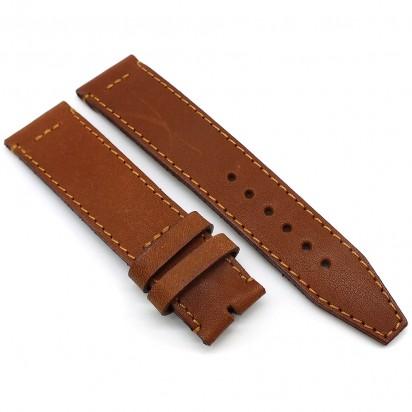 Кожаный ремешок ручной работы для часов 18 мм M044-18