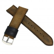Кожаный ремешок ручной работы для часов 22 мм M084-22