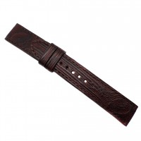 Авторский кожаный ремешок ручной работы для часов 22 мм M085-22