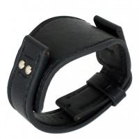 Авторский кожаный ремешок ручной работы для часов FOSSIL 22 мм M090-22