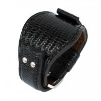 Авторский кожаный ремешок ручной работы для часов FOSSIL 22 мм M088-22
