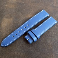 Кожаный ремешок ручной работы для часов 18 мм M076-18
