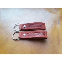 Брелок для ключей из натуральной кожи B001