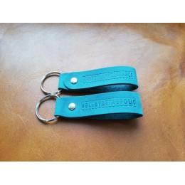 Брелок для ключей из натуральной кожи B003