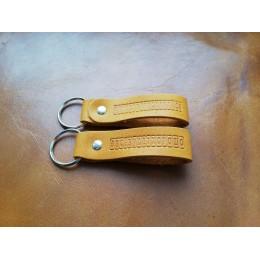 Брелок для ключей из натуральной кожи B004