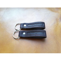 Брелок для ключей из натуральной кожи B005