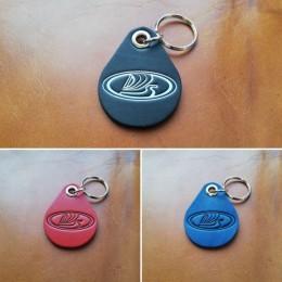 Брелок для ключей из натуральной кожи B011