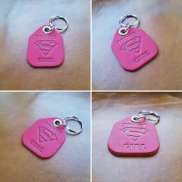 Брелок для ключей из натуральной кожи B030