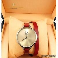 Часы с двойным ремнем Calvin Klein CWD039