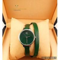 Часы с двойным ремнем Calvin Klein CWD041
