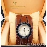 Часы с двойным ремнем Hermes CWD051