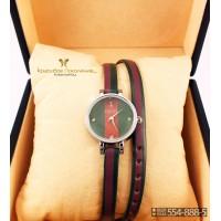 Часы с двойным ремнем GUCCI CWD016