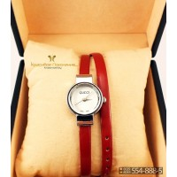 Часы с двойным ремнем GUCCI CWD019