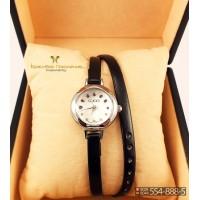 Часы с двойным ремнем GUCCI CWD021
