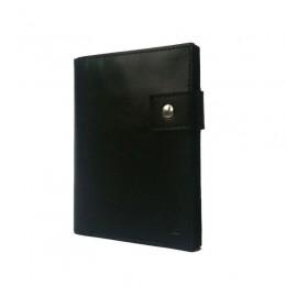 Портмоне для автодокументов, паспорта и денег чёрное С12