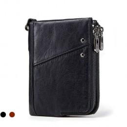 Раскладной кошелек кожаный LYCURGUS черный