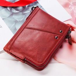 Раскладной кошелек кожаный LYCURGUS красный