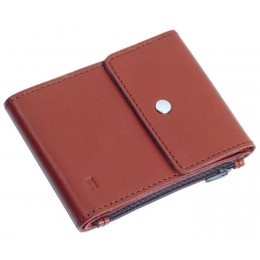 Зажим для денег кожаный DUO коричневый Арт. C17.2