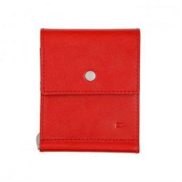 Зажим для денег кожаный ONE красный Арт. C17.0