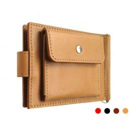 Зажим для денег кожаный Standart Pro песочный Арт. C17.3