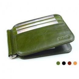 Зажим для денег Fotis зелёный Арт. K1.1