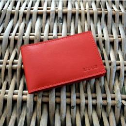 Визитница Mini красная С6