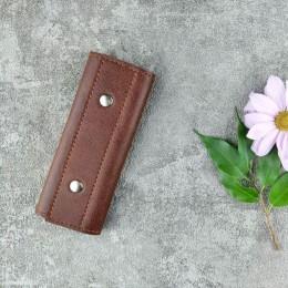 ключница Mini коричневая C7.1