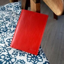Обложка на паспорт красная C14.1