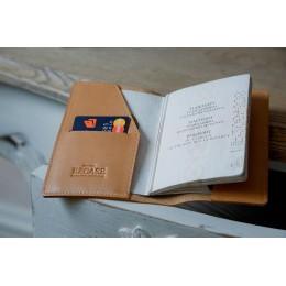 Обложка на паспорт песочная C14.1