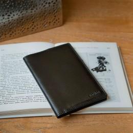 Обложка на паспорт чёрная C14.1